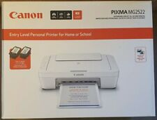 NEW Canon PIXMA MG2522 Wired All-in-One Color Inkjet Printer INK INCLUDED