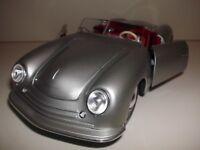 1:18 PORSCHE No.1 TYP 356 ROADSTER 1948 Maisto Modellauto Silber Diecast Cabrio