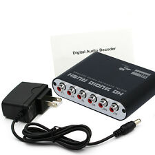 5.1 Channel AC3 DTS Audio Gear Digital Surround Sound Rush Decoder HD Player