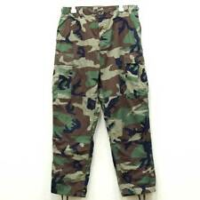 US Army Original BDU Pants Woodland Camo  Twill size Medium Regular 31-35