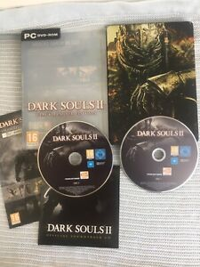 Dark Souls II Black Armour Edition PC DVD ROM Game & Soundtrack Steel Case