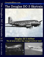 Douglas DC-3 Airliner - Greatest Passenger Airliner that flew Around thw World