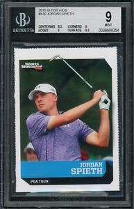 2015 Jordan Spieth SI for Kids #430 RC Rookie BGS 9 (8.5/9/9/9.5) Great Subs