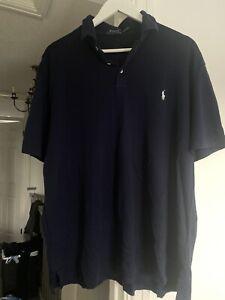 Ralph Lauren polo shirt XXL Super Soft Cotton - Navy