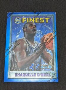 1996 Topps Finest Shaquille O'Neal #32, w/ Peel, Orlando Magic
