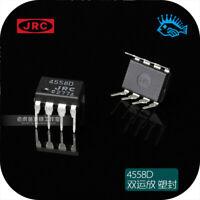 JRC4558D DIP-8 Dual Operational Amplifier HiFi Audio Component LHY 1pc Op Amp