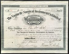 VAGINETTE SURGICAL INSTRUMENTS COMPANY LTD. Stock 1889. Philadelphia, PA.  VF