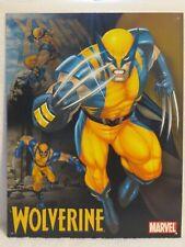 Marvel Comics 2005 Wolverine Tin Metal Sign 12.5 x 16 inch