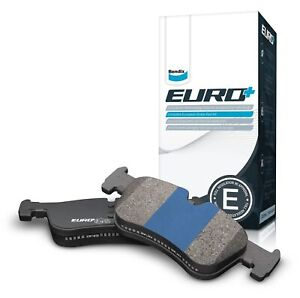 Bendix EURO Brake Pad Set Rear DB1472 EURO+ fits Holden Tigra XC 1.8