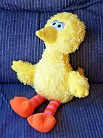 Big Bird Musical Yellow Orange Feet 2008 Sesame Street Fisher Price Plush 12""