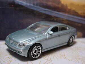 2009 #3 VIP Design Exclusive MERCEDES-BENZ CLS500 ☆light Blue☆Matchbox LOOSE