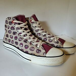 Converse Red All Star Chuck Taylor Zbcupcake Hightop Sneakers Men's 9.5