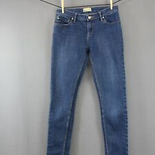 Roxy Denim Skinny Jeans Size 5 27 Juniors Low Rise Stretch 5 Pocket Stretch