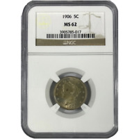 1906 Liberty Nickel NGC MS62 ***Rev Tye's Coin Stache*** #501786