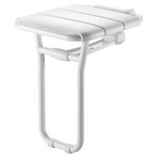Delabie Siège de douche relevable avec pied, alu ref 510400