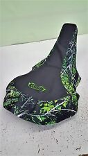 KAWASAKI KFX400 KFX 400GRIPPER seat cover with  toxic camo