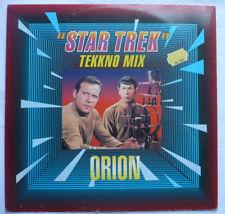 "ORION - Star Trek (Tekkno mix) - 12""-Maxi"