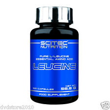 AMINO Aminoacidi SCITEC LEUCINE 100 capsule Leucina 25 porzioni 0728633103768
