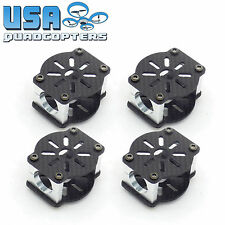 4pcs 16mm Carbon Fiber Tube Motor Mount Over-Under Drone Frame (Blue Anodized)