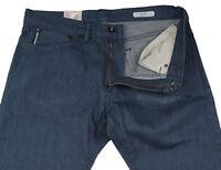 New Mens Marks & Spencer Blue Slim Jeans Waist 32 Leg 34 LABEL FAULT