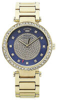 Juicy Couture Ladies' Luxe Couture Blue Dial Bracelet Watch New