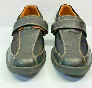 Dr Comfort Douglas 6610 Therapeutic Diabetic Casual Black Leather Shoes Mens 11M