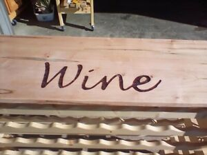 WOOD Wine Table Stand