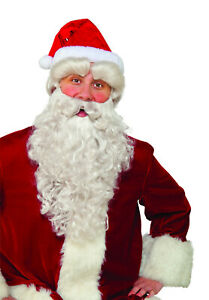 Deluxe Santa Eyebrows Self Adhesive St. Nick Costume Accessory Christmas