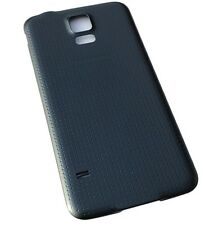 Back Housing Battery Door Cover Case Samsung Galaxy S5 i9600 Black