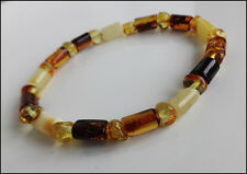 Natural Baltic Amber Bracelet for Mens and Womens