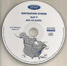 2003 2004 2005 2006 Ford Expedition Navigation CD Map WV VA MD DE Partial PA NJ