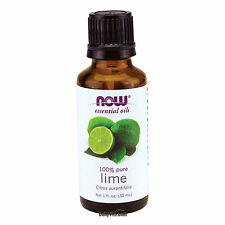 NOW FOODS 100% PURE Lime Essential Oil 1oz (30 ml), Citrus aurantifolia,FRESH
