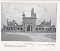 1897 Vittoriano Stampa ~ Mayo College Ajmere India ~ Forti ( Testo