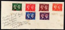 GB = G6 1940 Stamp Centenary set/6 with Special FDI cancels. (See Below) (1170)