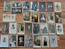 More details for 100+ individual portrait photos 1890-1940s