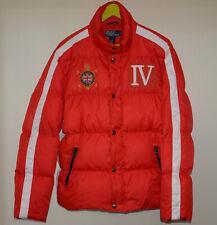 Vintage Polo Ralph Lauren Britain Snow Challenge Cup Down Puffer Jacket Rare M