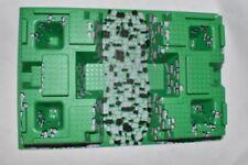 LEGO Baseplate Raised 32x48 Pit Green Black Gray Rocks 30271 6091 6098 10176 HYA