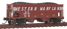 Piste N - Bachmann 55-Ton 2-Bay Décapotable Trémie Western Maryland 19552 NEU