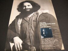 DAN HILL a Man Who Makes Music For Women and their lovers 1980 PROMO DISPLAY AD