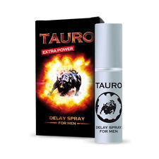 3 x LUBRIFICANTE TAURO EXTRA FORTE SPRAY RITARDANTE CONTRO EIACULAZIONE PRECOCE