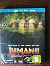 Jumanji : Bienvenue dans la jungle [Blu-ray 3D + Blu-ray + Digital UV NEUF
