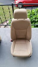 BMW E90 E91 328I 325 330I OEM FRONT LEFT DRIVER L SIDE POWER HEATED LEATHER SEAT
