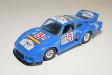 @. BBURAGO BURAGO 142 PORSCHE 935 TT TURBO RALLY BLUE EXCELLENT CONDITION
