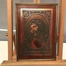 Belle gravure Gravée Sur Acier Jesus Christ 25x18cm