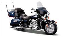 Maisto 1:12 2013 Harley Davidson FLHTK Electra Glide MOTORCYCLE BIKE Model BOXED
