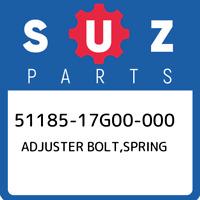 51185-17G00-000 Suzuki Adjuster bolt,spring 5118517G00000, New Genuine OEM Part