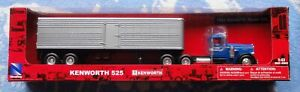 1951 KENWORTH 525 SEMI WITH TRAILER 18 WHEELER MADE 2006 SCALE 1/43 DIECAST NEW