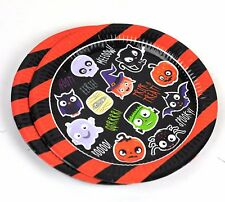 Halloween Spooky Smiley Pals Party assiettes, pack de 8