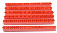 LEGO Technik - 6 x Liftarm 1x13 rot dick  / 41239 NEUWARE