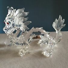 Swarovski Crystal SCS Annual Edition 1997 Fabulous Creatures The Dragon New COA